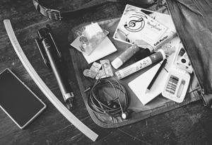 Notfallset für Musiker & was ich so dabei hab