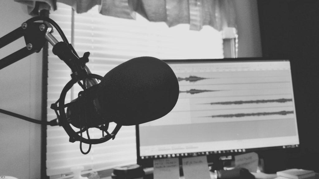 Podcast Mikro Gesangsaufnahme